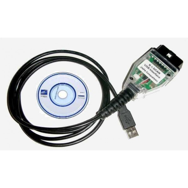 K can d can obd2 usb cable ediabas inpa k Diagnosescanner Tool für bmw