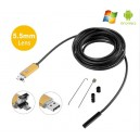 USB Android 2in1 Endoscope Video Snake Borescope Inspection Tube Camera 10m Length